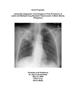 Current TB treatment practices in the Philippines –V