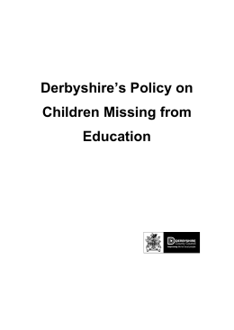 Children Missing from Education Policy Document
