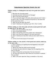 Comprehension Questions Parents Can Ask - The Co