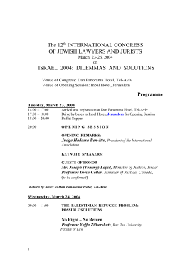 The 12th INTERNATIONAL CONGRESS