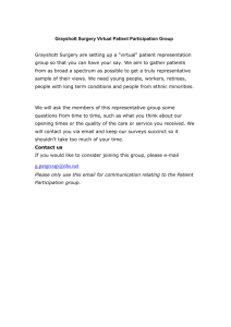 Grayshott Surgery Patient Participation Group