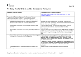 Registered Teacher Criteria