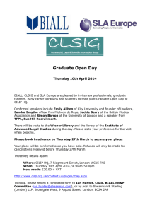 Graduate Open Day booking form