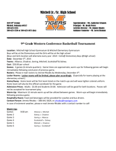 2015 9th Grade Western Conference Basketball Tournament