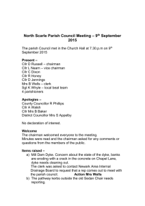 Minutes 9th September - Lincolnshire County Council