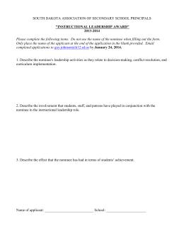 Sample Script for an Annual General Meeting