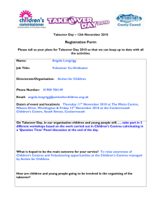 Children`s Services - Cumbria County Council