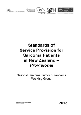 standards-of-service-provision-sarcoma-patients