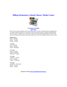 Hilltop Elementary School Library