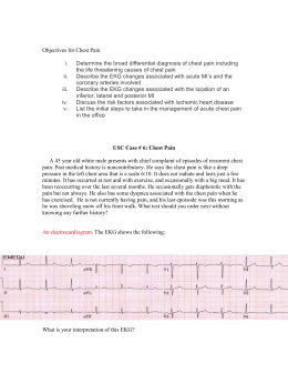 Clinical Case Chest Pain