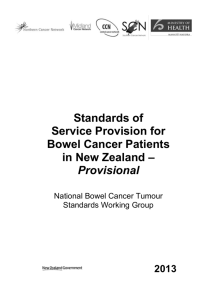 standards-of-service-provision-bowel-cancer-patients