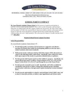 school-parent compact sample template