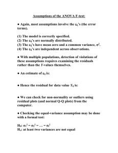 Multiple pairwise comparisons procedures