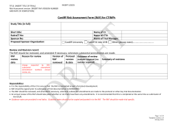 Template CTIMP Risk Assessment Form v2.0