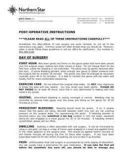 wisdom teeth syringe instructions