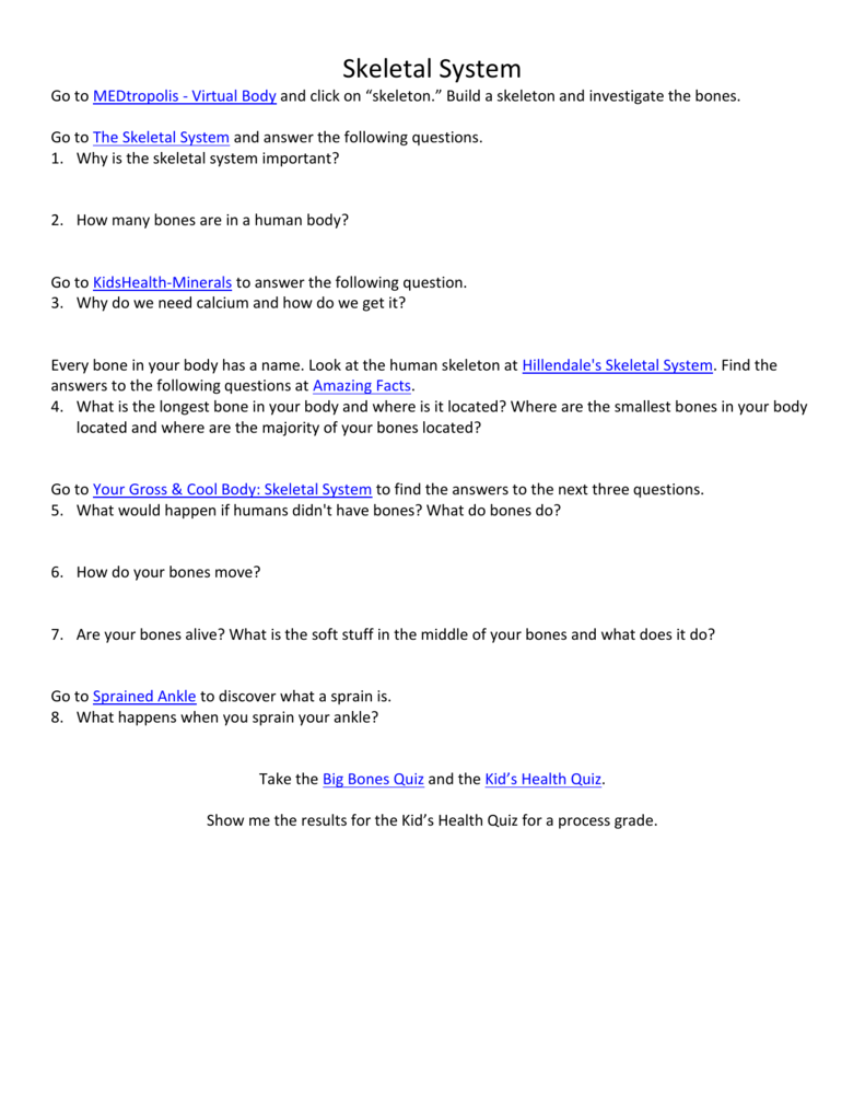 body systems web unit worksheets, Muscles