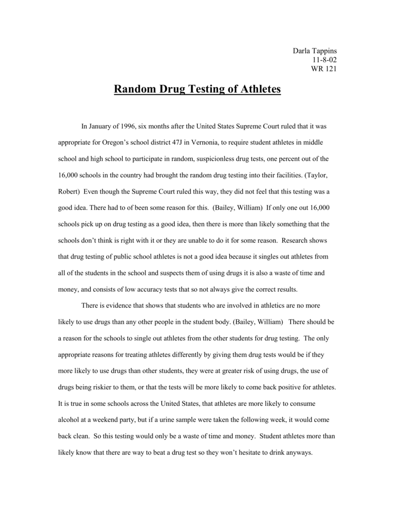 essays on being a student athlete