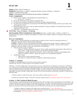 ap stats mid term review problem set Ap statistics – ap exam review name:_____ linear regression & computer output: interpreting important variables 3 practice minitab / computer printouts 1 a sample of men agreed to participate in a study to determine the relationship between several variables.