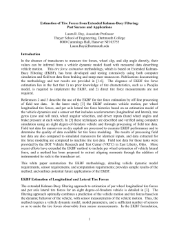 A Feasibility Study on Estimation of Tire Force Models from Test
