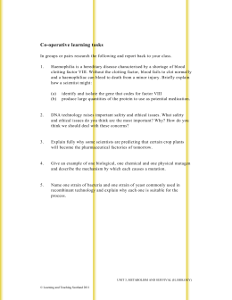 Co-operative Learning Tasks