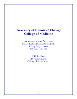 activities04 - University of Illinois at Chicago