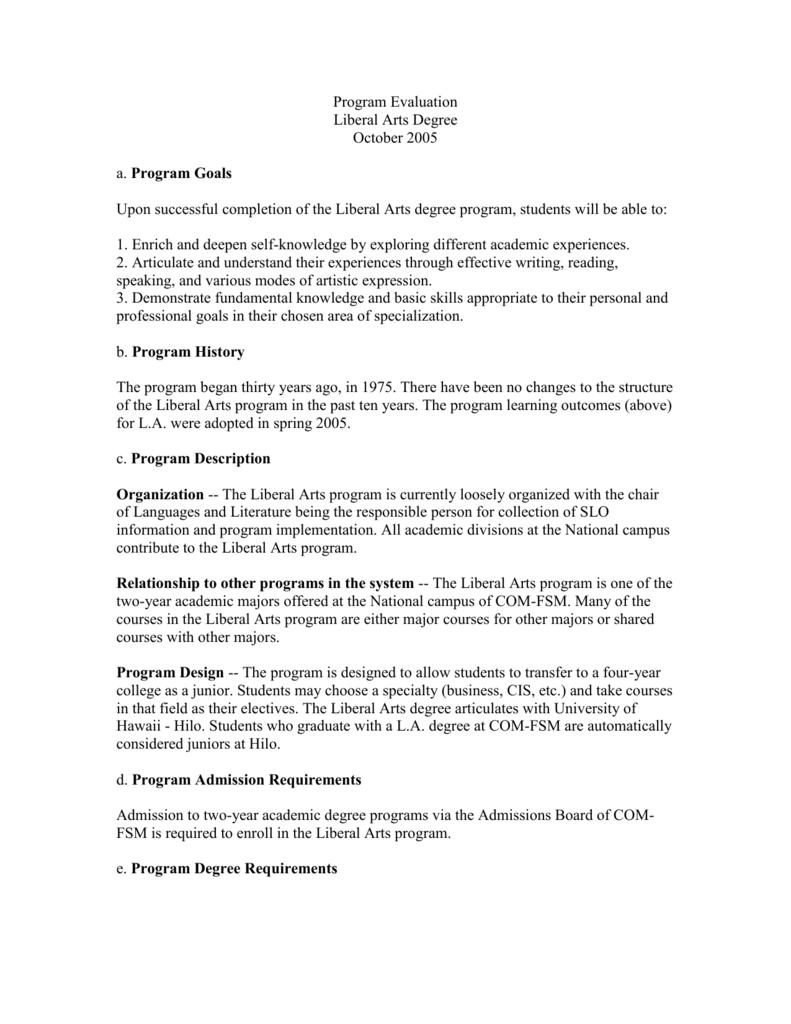 Assignment: Conducting Program Evaluation Assignment: Conducting Program Evaluation - College Pal