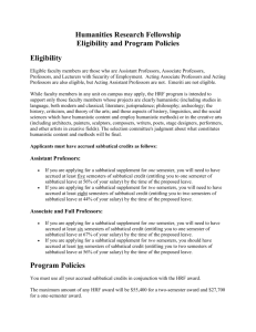 Eligibility - College of Letters & Science
