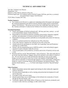 Job Description Worksheet