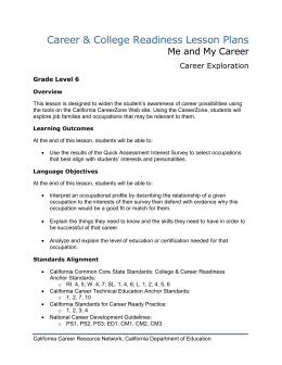 DOC - California Career Resource Network