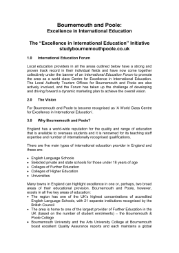 DRAFT CONCEPT DOCUMENT - International Education Forum