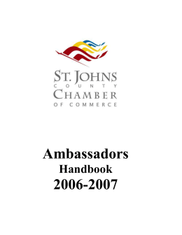 click here - St. Johns County Chamber of Commerce