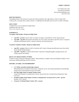 Resume-Sample-High-School -Student