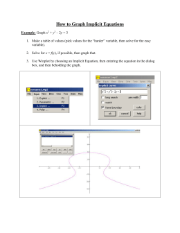 "Word document ""How to Graph Implicit Equations"""