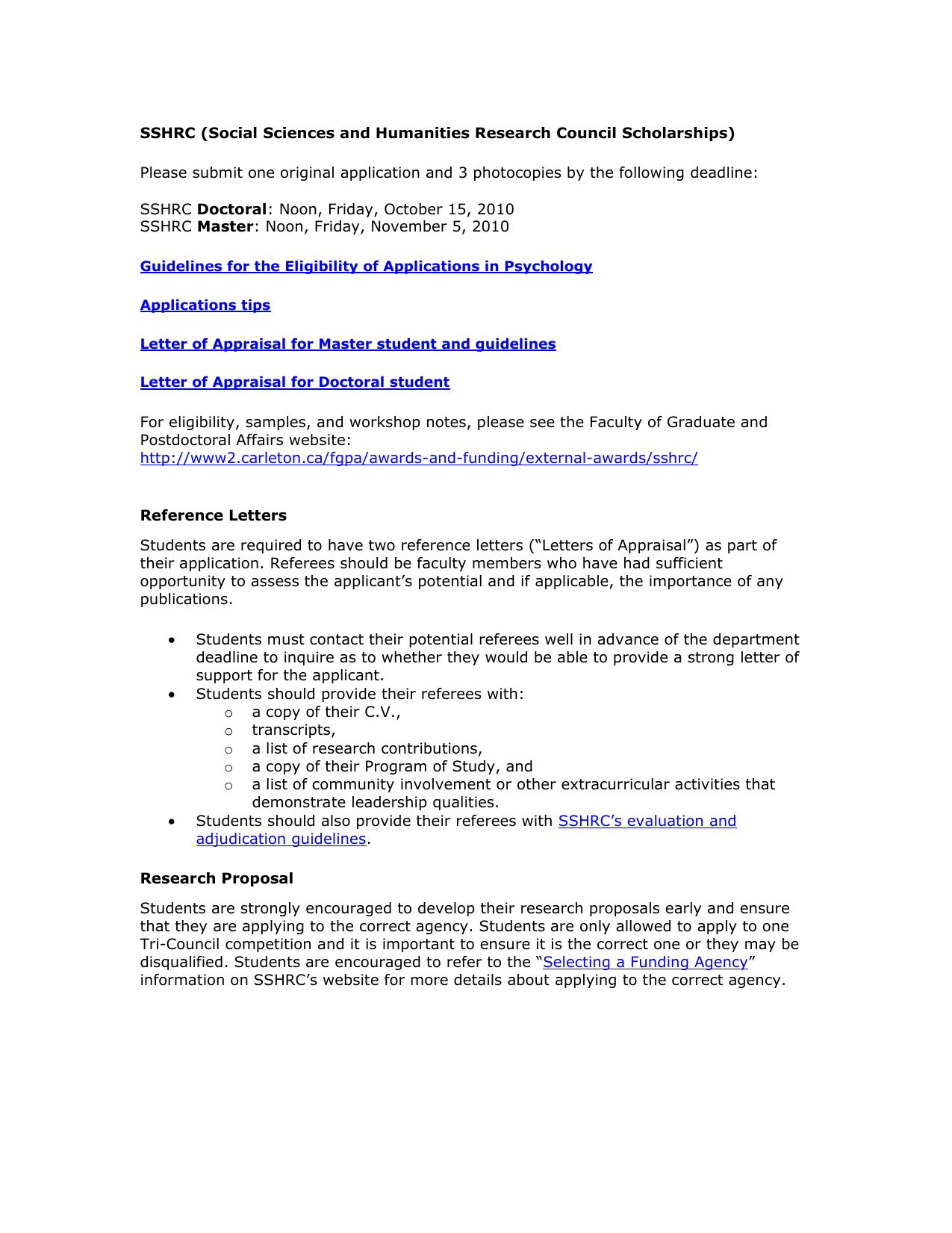 sample research proposal sshrc