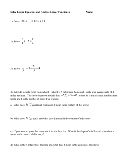 Simplify Polynomial Expressions and Solve Equations