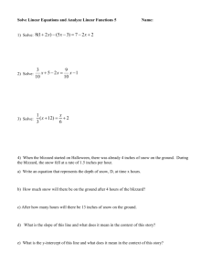 Solve Linear Equations and analyze linear functions 5 and 6