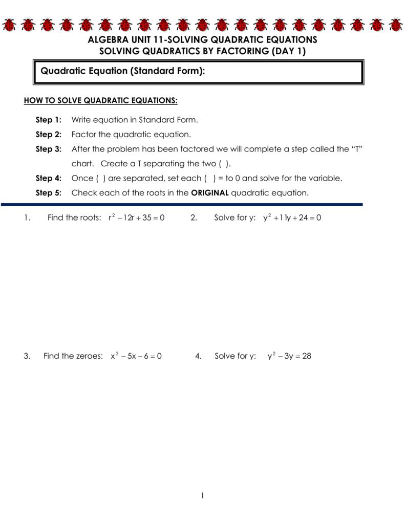 Quadratic word problems falaconquin