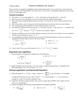 This optional review activity is designed to highlight the major skills