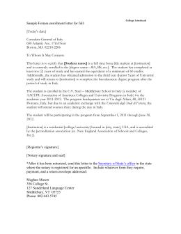 funeral home letterhead sample florence enrollment letter for spring