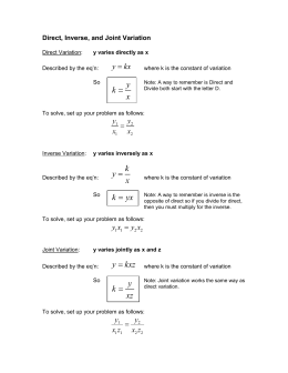 direct variation worksheet with answers – streamclean.info