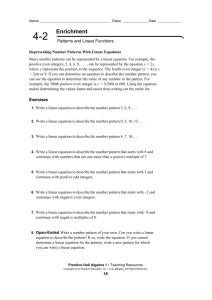 grade 8 integer test - Grade8-Math