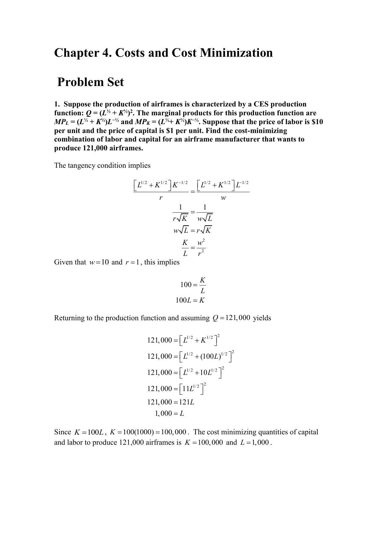 Macroeconomics tutorial part 3 cobb douglas production function.