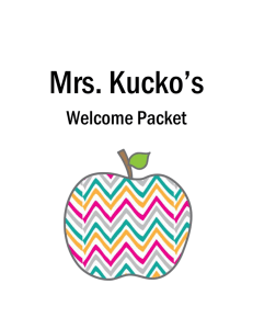 Welcome Packet - Belleville Middle School