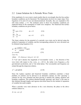 Review of Linear Wave Theory