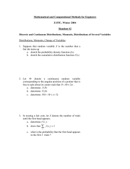 Mathematical and Computational Methods for Engineers