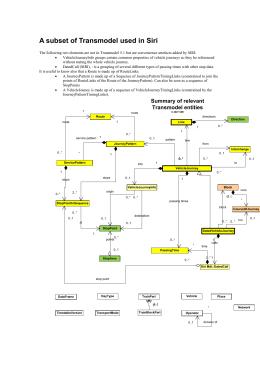 handbookv06 UML Flowchart a subset of transmodel used in siri