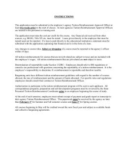 request for reimbursement letter