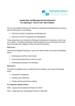 8600 308 understanding leadership workbook Free essay: ilm level 3 unit 8600-308 understanding leadership assignment 1  understand leadership styles 11 describe the factors that.