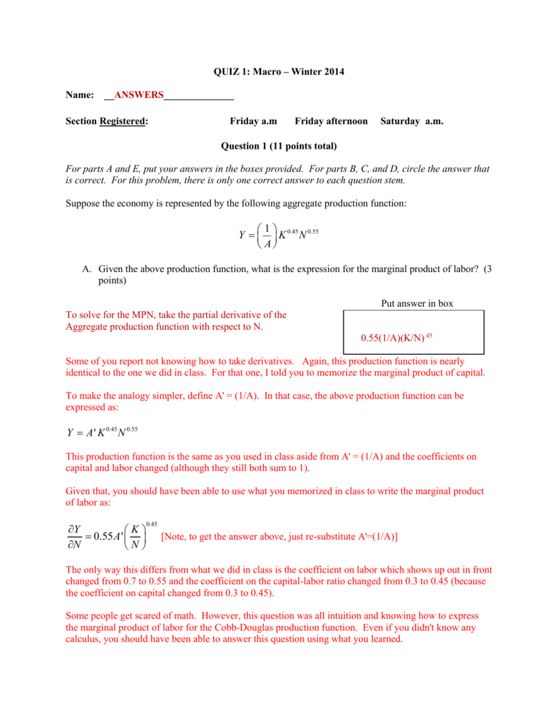 Week 3 Practice Quiz f Answers