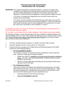 Section 5.20 - El Dorado Union High School District